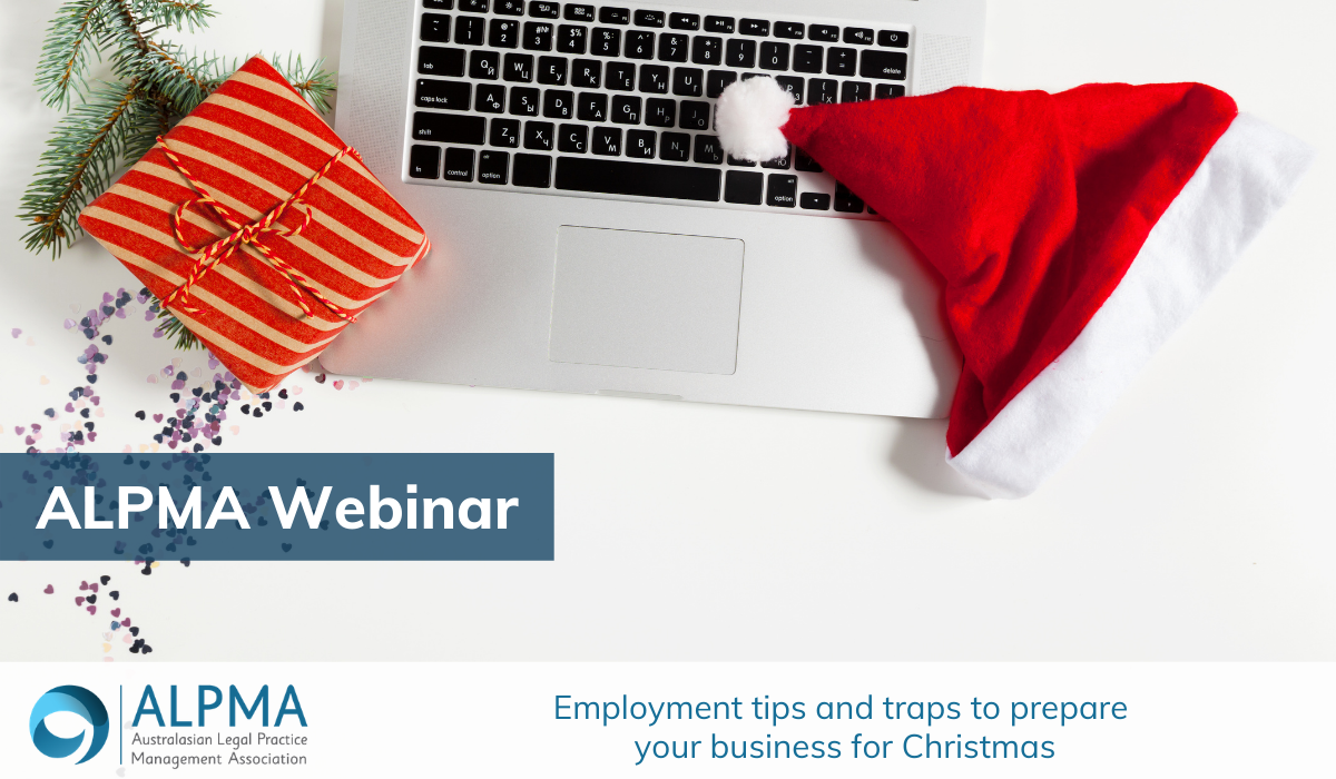 Employment tips and traps to prepare your business for Christmas