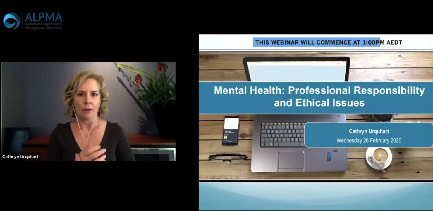 Mental health: professional responsibility and ethical issues