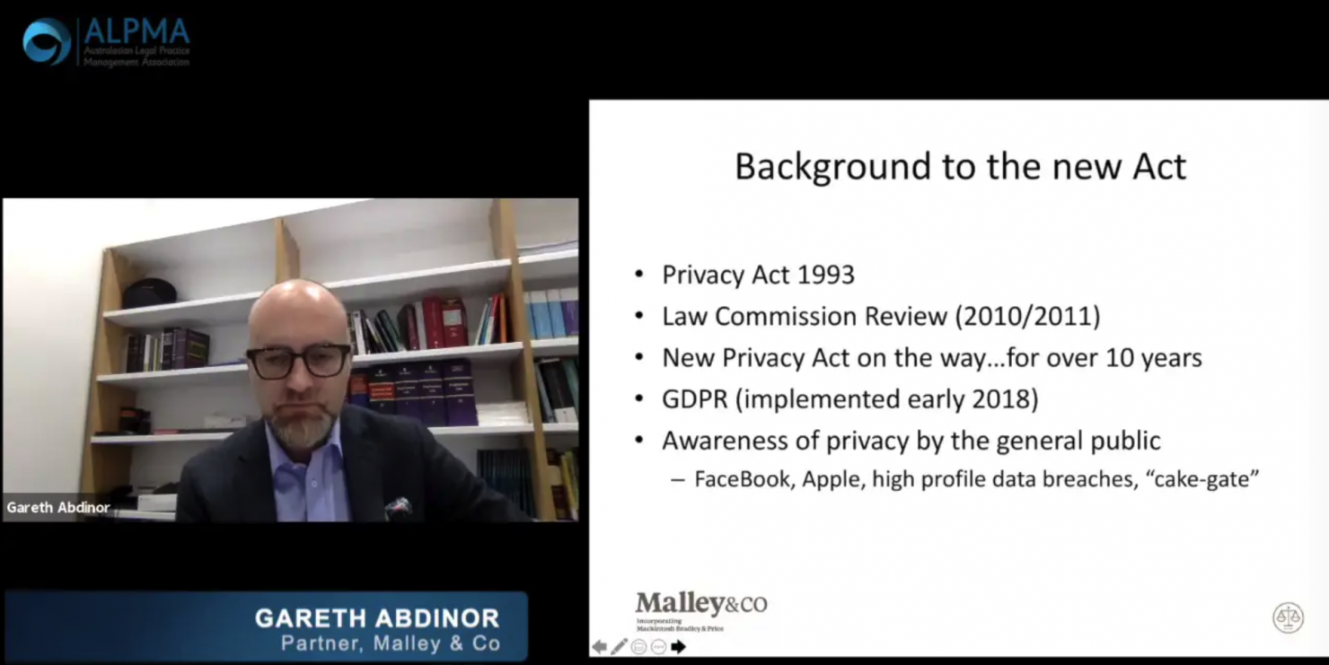 NZ Privacy Act Update