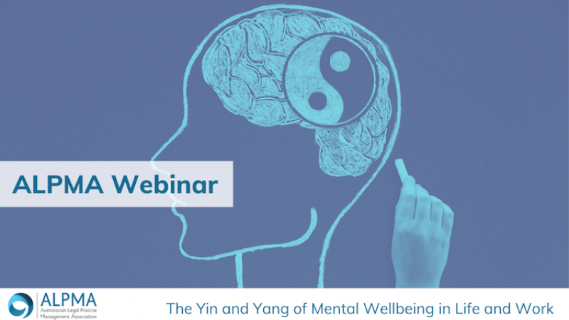 The Yin and Yang of Mental Wellbeing in Life and Work