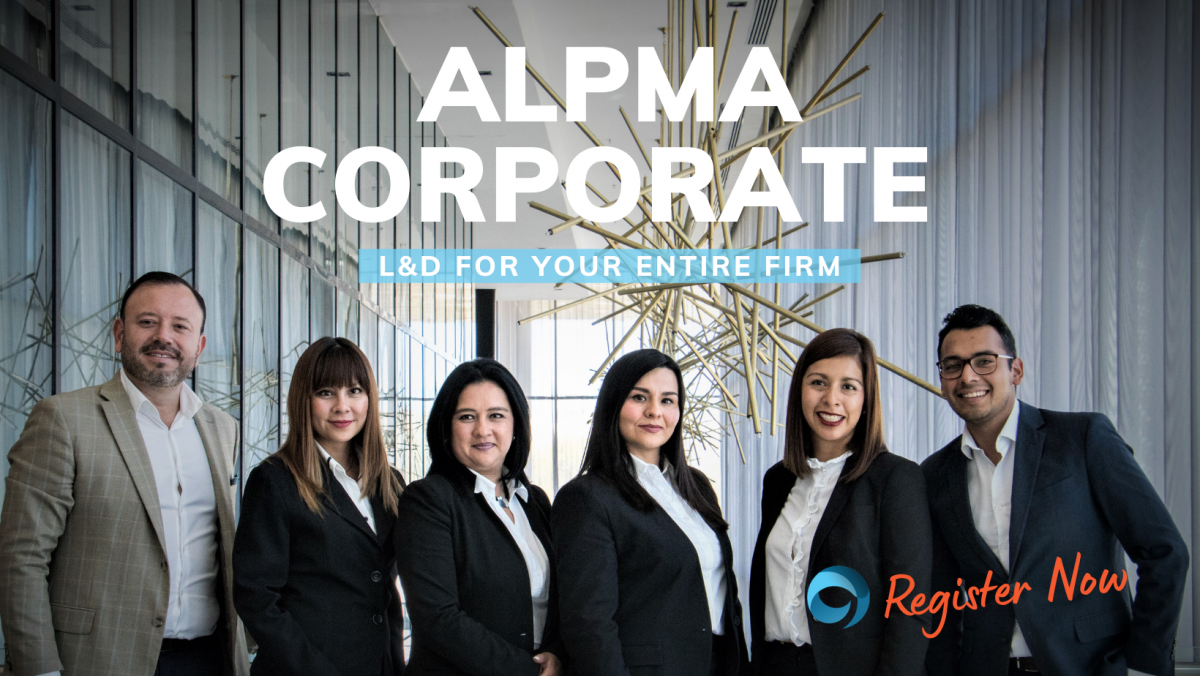 ALPMA Corporate. L&D for your entire firm.