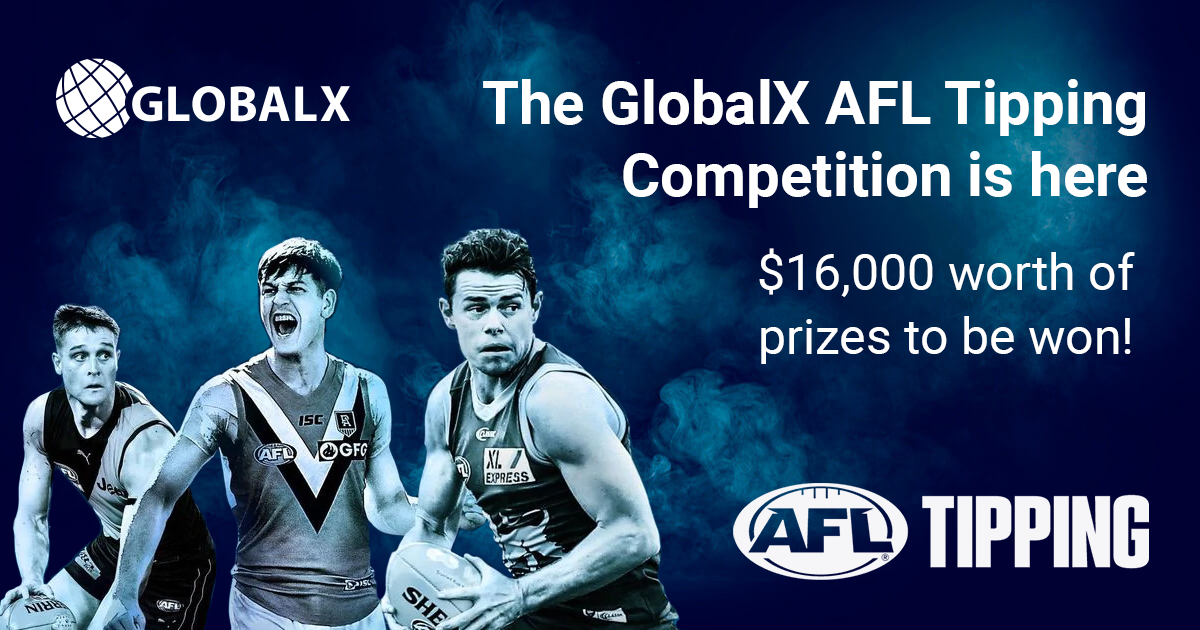 The GlobalX AFL Tipping Competition is here